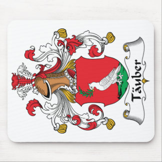 Tauber Family Crest Mouse Pad