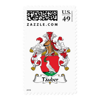 Tauber Family Crest Postage