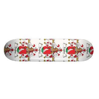 Tauber Family Crest Skate Deck