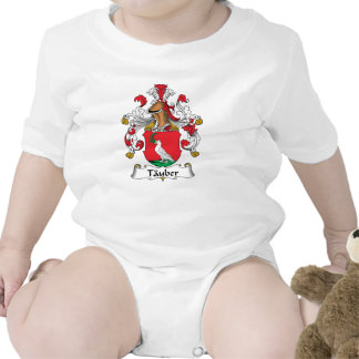 Tauber Family Crest Baby Creeper