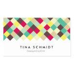 Tauchen Sie ein in Farbe Visitenkarten Tarjeta De Visita