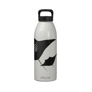 taucher mantarochen manta ray scuba diving bucean botellas de beber