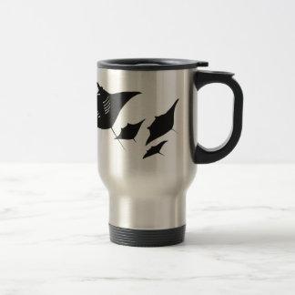 taucher mantarochen manta ray scuba diving bucean taza de café