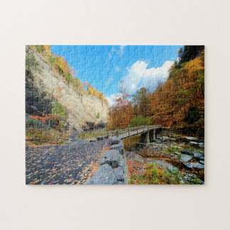 Taughannock Falls State Park Jigsaw Puzzle
