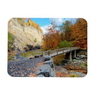 Taughannock Falls State Park Vinyl Magnet