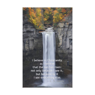 Taughannock Falls, Ulysses, NY Stretched Canvas Prints