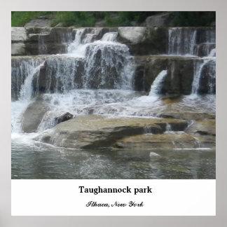 TAUGHANNOCK PARK, ITHACA N.Y. poster
