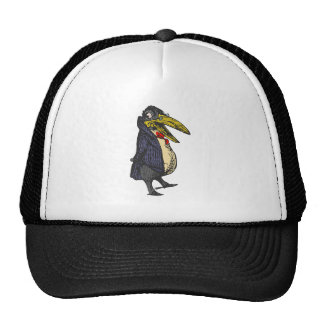 taught rabe academic to raven trucker hat
