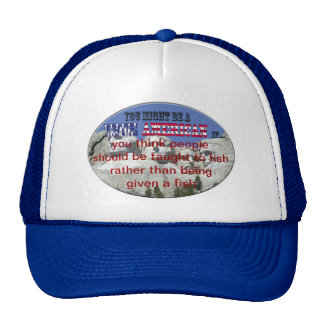 taught to fish trucker hat
