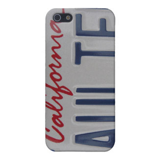 Taulier California license plate Cover For iPhone SE/5/5s