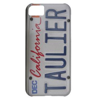 Taulier California License Plate iPhone 5C Case