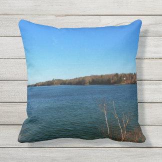Taunton Bay Spring 2016 Throw Pillow