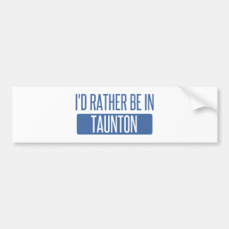 Taunton Bumper Sticker