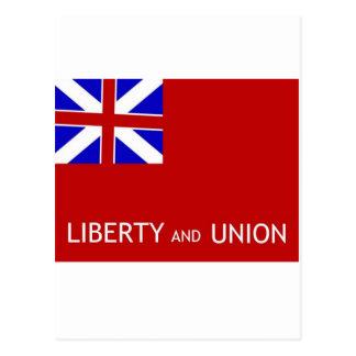 Taunton Flag # 2 Postcard