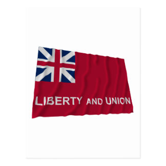 Taunton Flag Postcard