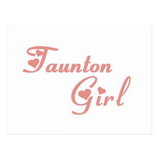 Taunton Girl tee shirts Postcard