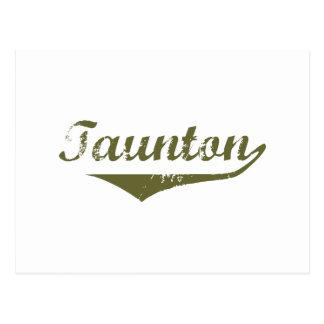 Taunton  Revolution t shirts Postcard
