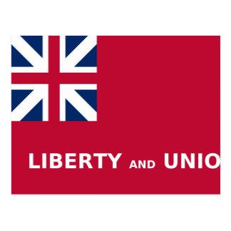 Taunton (United States), United States flag Postcard