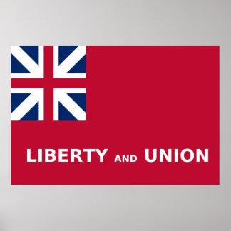 Taunton (United States), United States flag Posters