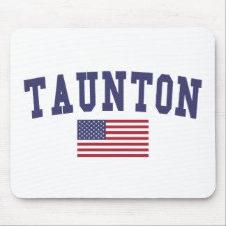 Taunton US Flag Mouse Pad