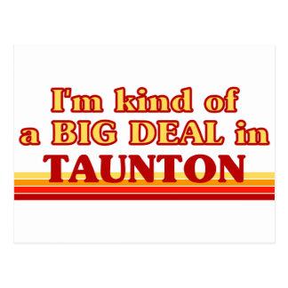 TAUNTONaI am kind of a BIG DEAL in Taunton Postcard