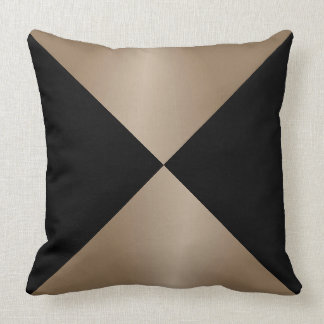 black and taupe pillows decorative throw pillows zazzle