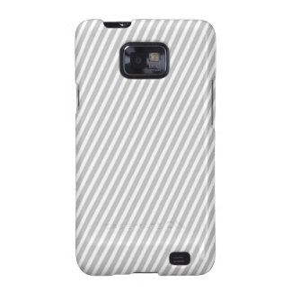 Taupe Diagonal Stripe, Sophisticated and Stylish Samsung Galaxy SII Case