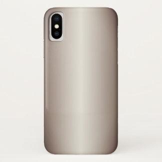 Taupe Gradient iPhone X Case