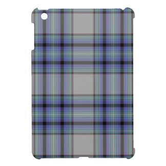 Taupe Grey Mauve Purple Blue Black Tartan Plaid iPad Mini Covers