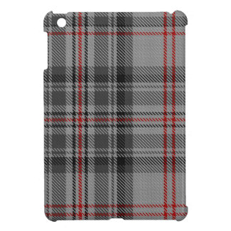 Taupe Grey Red Black Tartan Plaid iPad Mini Covers