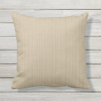Taupe Khaki Shade Variation Outdoor Pillow 16x16