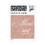 Taupe Lace Moses Postage Stamp