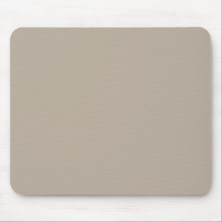 Taupe Neutral Color Trend Blank Template Mouse Pad
