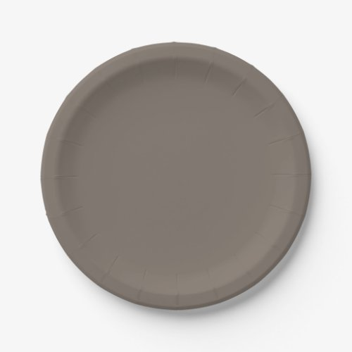 Taupe Paper Plates