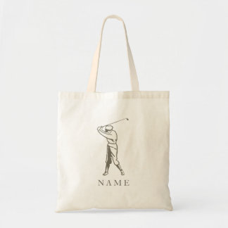 Taupe Personalized Golfer Bags
