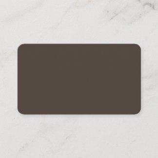 Taupe Rounded Business Card