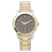 Taupe Scope Watch