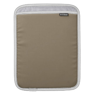 Taupe Solid Color Sleeve For iPads