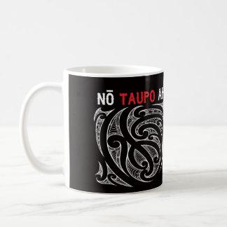 Taupo Aotearoa Map Pin Drop Coffee Mug