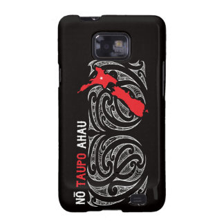 Taupo Aotearoa Map Pin Drop Galaxy S2 Case