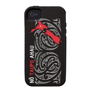 Taupo Aotearoa Map Pin Drop iPhone 4 Cases