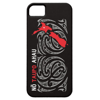 Taupo Aotearoa Map Pin Drop iPhone 5 Cover