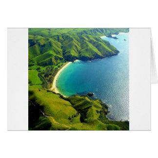 Taupo Bay, New Zealand Card