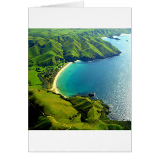 Taupo Bay, New Zealand Greeting Card
