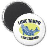 Taupo Nueva Zelanda del lago de los pescados de la Iman Para Frigorífico