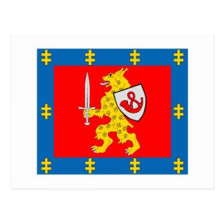 Taurage County Flag Postcard