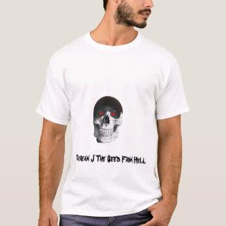 Taurean j Skull White T shirt