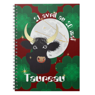 Taureau 21 avril outer 20 May Carnets Notebook