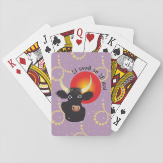 Taureau 21 avril outer 20 May Jeux de cartes Playing Cards
