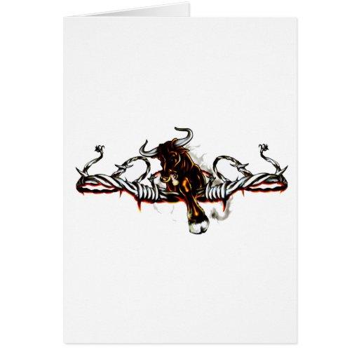 Taurian Bull Greeting Card